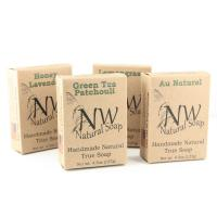 China Natural Soap Small Foldable Kraft Paper Packaging Boxes Single Color Printing wholesale