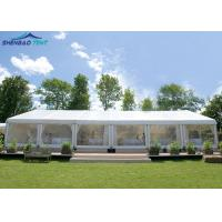 China Aluminum Alloy Frame Gazebo Marquee Party Tent Customized For Wedding Party wholesale