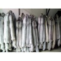 China natural silver fox fur skin plates on sale