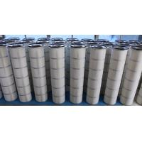 China Three-lugs dust collector filter cartridge for wood processing and pigment industry wholesale