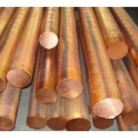 Buy cheap Copper Solid Round Bar / Copper Round Bar Dia 10 - 100mm C11000 C10200 from wholesalers