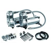 Heavy Duty Air Bags : Details of dual pack air ride suspension for trucks