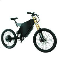 Buy cheap 72v Li Battery Stealth Bomber Bike , 150 Kg Max Load Electric Mountain Bike from wholesalers