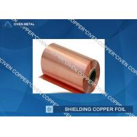 Quality 35um Single Shiny FCCL / PCB Electrolytic Copper Shielding Foil For Pcb Printed Circuit Board for sale