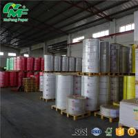 China 65gsm 65gsm Thermal Paper Jumbo Rolls , Kraft Paper Jumbo Roll High Tightness Oem Printed wholesale