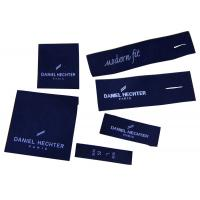 China Superior Quality Clothing Woven Labels Shrink-proof For Men Suit, Pants wholesale