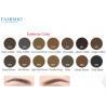 China Pure Organic Permanent Makeup Ink PigmentFor Eyebrows 14 Colors Long Lasting wholesale