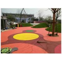 China Rubber Material EPDM Rubber Flooring Outdoor Playground Floor For Kids on sale