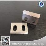 China High hardness SKD11 steel granulator plastic crusher blades wholesale