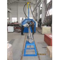 China Automatic 450 Seam Welder , lighting pole welding machine 450 / 12000mm wholesale