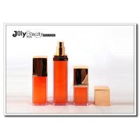 Buy cheap Promotional 15ml Empty Square Plastic PP Airless Bottle Orange Skin Care Cream from wholesalers