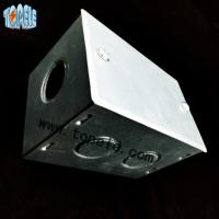 China BS4568 Steel GI Electrical Boxes And Covers For Metal Outlet Devices wholesale