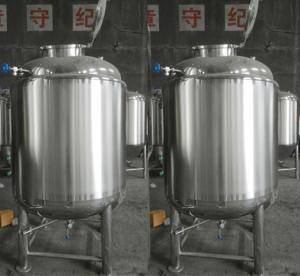 China 500L Manual professional Stainless Steel Buffer Tank , Custom Water Tanks wholesale