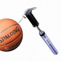 China Dual Action Hand Pump for Bicycle and Balls, with Needle, Nozzle + Bracket wholesale