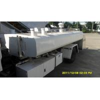 China Low Emissions Potable Water Truck Pelled Chassis 0.25 - 0.35 MPa Pressure wholesale