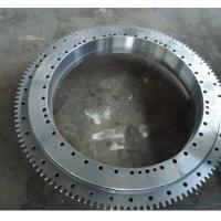 China tower crane spare parts slewing ring bearing; tower crane slewing ring on sale