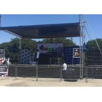 China SMD3535 Outdoor P10 Full Color Waterproof Rental LED Display Screen, Cabinet Size: 640x640mm wholesale
