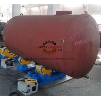China Variable Speed Self Aligned Pipe Welding Rotator 10 Ton Rotary Capacity wholesale