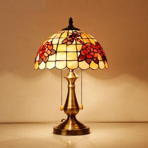 China Holiday Merry Christmas shell lampshade indoor decorative lamp (TS6712) wholesale