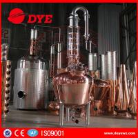 China 300 Copper Alcohol Distiller Distillation Equipment for whiskey brandy wholesale