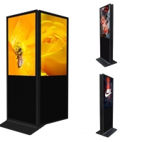 China 400cd/m2 43inch Free Standing Digital Signage 1920x1080 wholesale