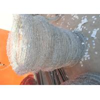China Q195 High Tensile Barbed Wire , Double Strand Barbed Wire For Security Fence wholesale