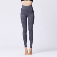 China 27% 25% 22% Spandex Blended Ladies Yoga Wear With Side Pocket wholesale