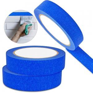 China Crepe Masking Tape Good Heat Resistance Automotive Painters Colored Masking Tape For Decoration wholesale