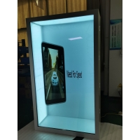 Buy cheap Indoor 3840x2160 85in Transparent LCD Display IR Touch FCC from wholesalers