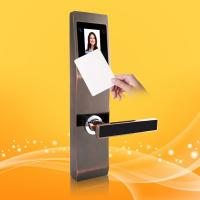 China Safety Finger Touch Keypad RFID Card Door With Palm And Face Recognition wholesale