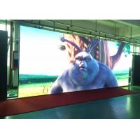 China HD Iron Cabinet Indoor Fixed LED Display P4 / Simple Housing Led Video Wall wholesale