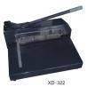 China Manual Paper Cutting Machine , Electric Heavy Duty Paper Cutter  XD-322 wholesale