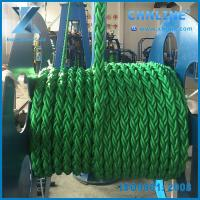 China 8 Strand green Polypropylene danline rope in stock wholesale
