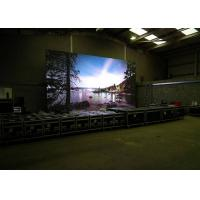 China HD 4mm Ultra Bright Outdoor Full Color LED Display Waterproof IP65 , Portable wholesale