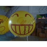 China Amazing Round Inflatable Advertising Balloon Attractive Smile Design wholesale