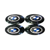Buy cheap High Performance Auto Exterior Accessories , Blue Metal Emblem Rim Center Caps from wholesalers