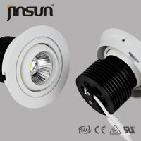 China 15W high lumen 1150 lumens 0/1-10V DALI dimmable of Led COB downlight with 3 yers warranty wholesale