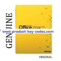 China Home Office MAC 2011 Microsoft Office Product Key Codes For Student wholesale