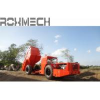 China 12 Tons RT -12 Heavy Duty Dump Trailers for underground mining or project on sale