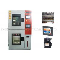 China Heat / Cold Humidity Climatic Test Chamber Double Layers Insulated Airtight Doors wholesale