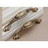 China Dumb Bronze Ceramic Contemporary Cabinet Hardware For Wardrobe Door Drawer wholesale