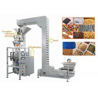 China Volumetric Cup Vertical Form Fill Seal Machine For Lentils / Sugar wholesale