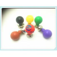 China Adult Reusable ECG Electrodes For Double Side Rubber Ball Shape Latex Free wholesale