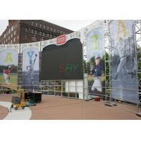 China Electronic P6 Curved LED Screens For Concert / Waterproof curved led panels SMD3535 wholesale