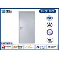 China Durable Gray 1 Hour Fire Rated Door , 25MM Fire Seals Fire Rated Steel Door wholesale