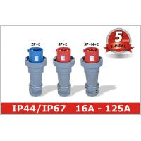 China Outdoor Electric Industrial And Multiphase Power Plugs And Sockets 125A wholesale