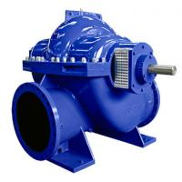 China Big Flow Double Suction Volute Pump , Horizontal Split Case Pump Electric / Diesel Motor wholesale