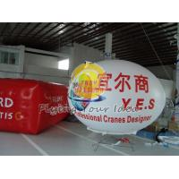 China Custom Large Durable Oval Balloon with UV protected printing for Entertainment events wholesale