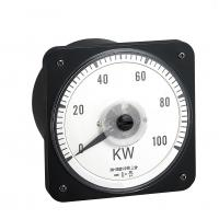 China Moving Coil Analog Electric Meter, 110*110mm Analogue Panel Ammeter Three Phase wholesale