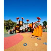China Pour In Place Playground Surface Materials Pressure Resistant Easy To Install wholesale